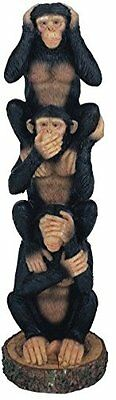 George S. Chen Imports Monkeys See Hear Speak No Evil Collectible Figurine