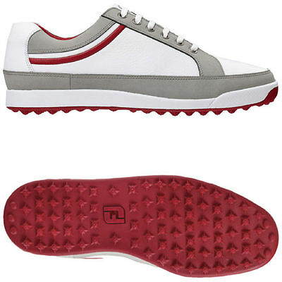 Footjoy  Contour Casual Leather Waterproof Golf Shoes  2015 size 12