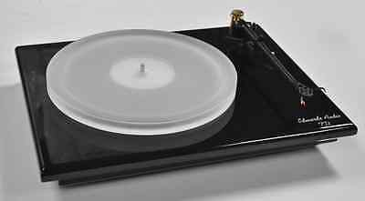 REGA / EDWARDS AUDIO, , 18mm Frosted Acrylic Platter For REGA TURNTABLES