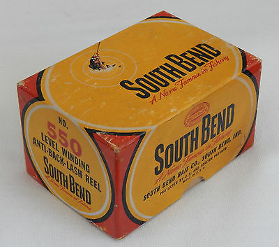 South Bend 550 Reel box and a 1000A Reel
