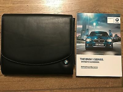 Genuine Bmw 1 Series Owners Manual And Wallet 2011-2015 F21
