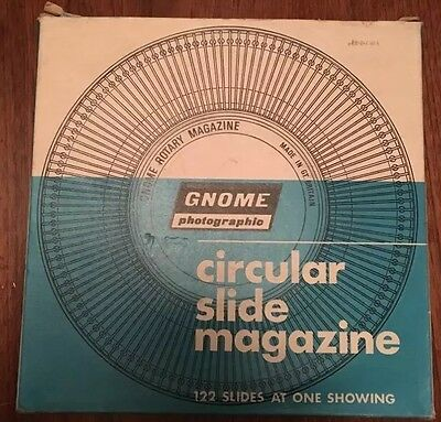 Gnome Rotary 35mm Slide Magazine 122 Capacity, Multiple Available