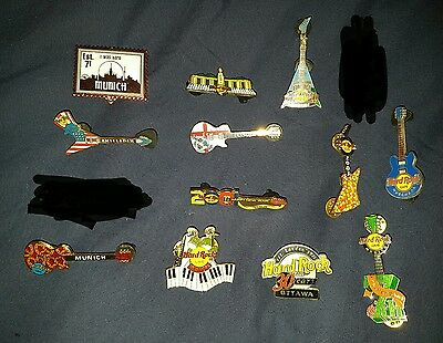 Lotto Spille Lot Pins Hard Rock Cafe