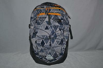 Authentic The North Face Borealis Backpack Bookbag Daypack White Yellow Vint New