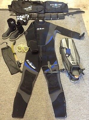 Diving suit and equipment
