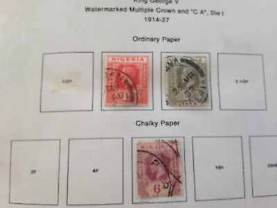 Nigeria extensive all period mint and used collection on pages in binder ££ vals