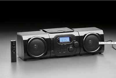 Micro System With CD Stereo Player Portable AM/FM Radio LCD Component Speaker