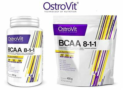 OstroVit BCAA 8-1-1 200g | 400g Powder Branch Chain Amino !