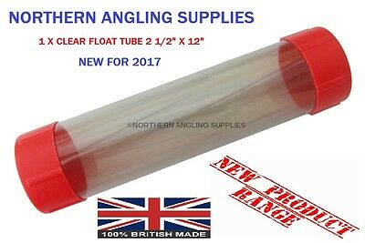 "NAS Clear Float Tube  12"" Length X 2 1/2"" Diameter"