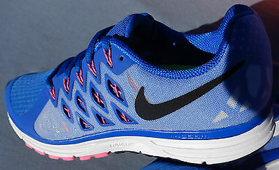 a1ba992e9fb NIKE WOMENS ZOOM Vomero 9 Size 6.5 Blue 642196-400 Running Trainer ...