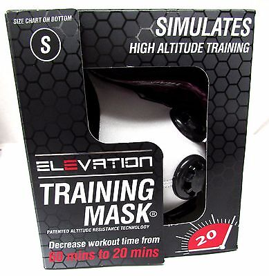 ELEVATION Training Mask 2.0 High Altitude MMA Fitness Small 100-140 lbs