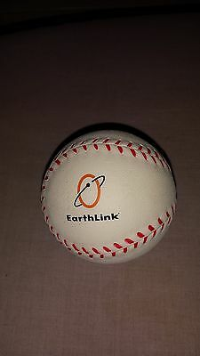 RARE! EarthLink EMPLOYEE ONLY STRESS RELIEVING BALL - Baseball Style - PERFECT