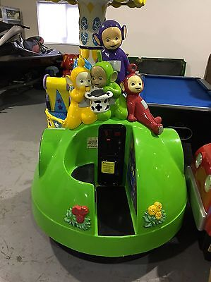 Coin Operated Teletubbies Dome Kiddie Ride