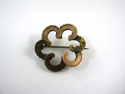 Antique Vintage Collectible Pin: Curl Flower Design Very Interesting