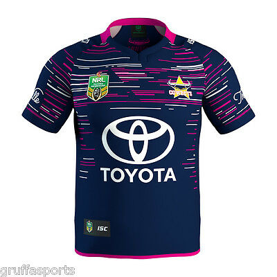 North Queensland Cowboys 2017 WIL Pink Jersey Sizes S & 2XL Women In League
