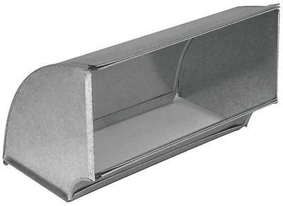 "Imperial GV0060-C SHORTWAY FLAT DUCT ELBOW 90 Deg 10"" X 6"", Steel, Galvanized"