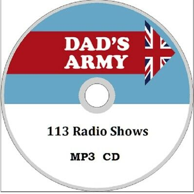 DADS ARMY Complete Collection of 72 Old Time Radio shows AUDIO MP3 CD
