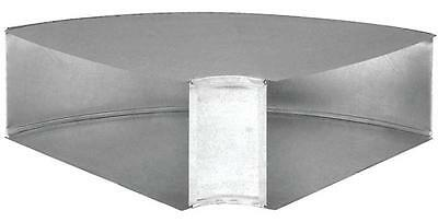 "Imperial GV0092-C LONGWAY SIDE DUCT ELBOW 90 Deg 3-1/4"" X 10"" steel galvanized"