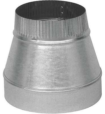 "Imperial GV0810 SHORT DUCT REDUCER 5"" X 4"" 30 Ga T Steel Galvanized REDUCTEUR"