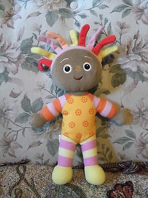 """13"""" In the Night Garden Stuffed doll 2008 Hasbro with tags - missing skirt"""