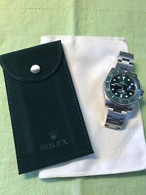 Genuine New Rolex travel  Pouch and Polishing cloth  An set