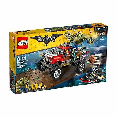 NEW LEGO Batman Movie Killer Croc™ Tail-Gator 70907 Age: 8-14 .