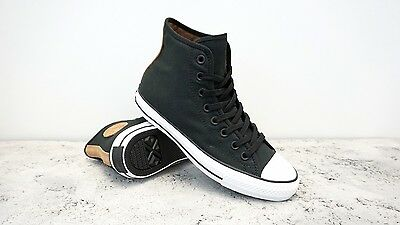 Converse CTAS Pro Hi Black / Rubber / White Multiple Sizes Cons Skateboarding