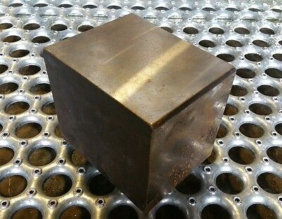 4140 Solid Heat Treated Block 42lbs for blacksmithing post anvil