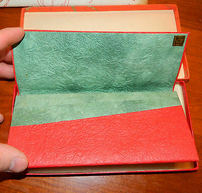 Vintage Washi/Rice Type Japanese Paper Wallet Japan Takashimaya Fifth Ave NY NIB