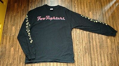 Vintage FOO FIGHTERS long sleeve concert shirt THE COLOUR AND THE SHAPE Tour 97'
