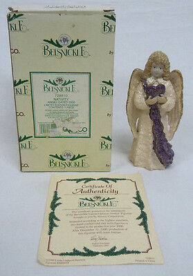 Belsnickle 728810 Nativity ANGEL Dated 2000 Limited Edition Figurine Mint in Box