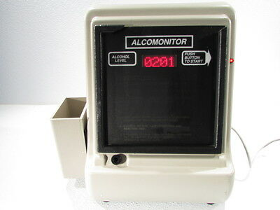 Intoximeters Alcomonitor  02-09009-00 Breathalyzer