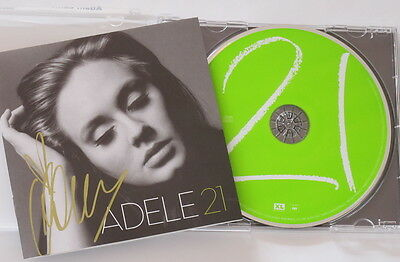 Adele autographed with pen 21 album official American version 08.2015 01
