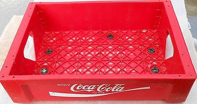 Vintage COCA-COLA Stackable Red Plastic Crate