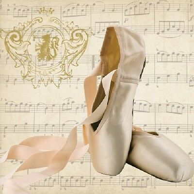 3 Paper Napkins for Decoupage / Parties / Weddings - Ballet