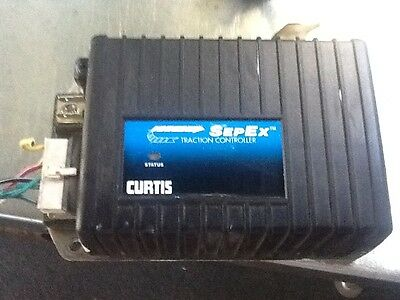 Golf cart speed controller..CURTIS and solenoid Club King