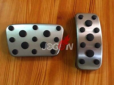 2pcs No Drilling Gas Brake Foot Pedal Cover AT For Lexus CT200h 2008- 2015