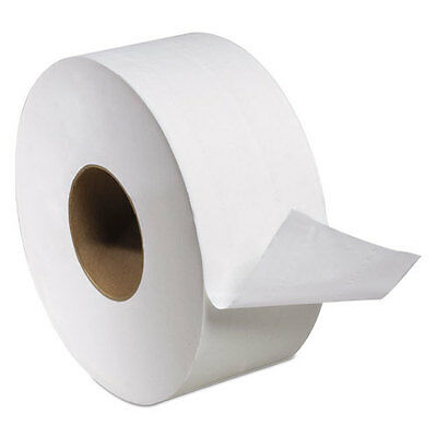 "Tork Universal Jumbo Bath Tissue, 2-Ply, White, 3.6"" x 1000 ft, 8.8"" Diameter"