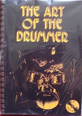 The Art of the Drummer John Savage Drum Kit Learn Spiral Bound Book Only S127