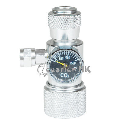 OZ HSL Co2 Plant Aquarium Single Pressure Gauge JIS m22-14 Regulator Manometer