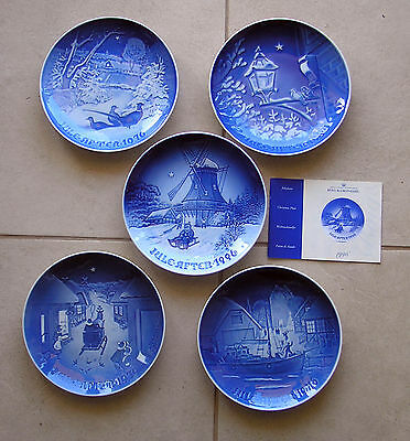 Bing & Grondahl 46 X Christmas Plates  $1.96 Per Plate Resellers And Collectors