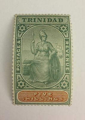 Trinidad 5/- Sg 122 Mint Cat £45