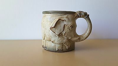 GEMPO AUSTRALIA POTTERY (made in Japan) ELEPHANT COFFEE CUP