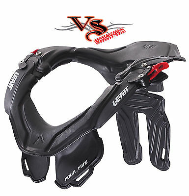 Leatt NECK BRACE GPX 4.5 Motocross & Enduro ADULT BLACK/GREY OR WHITE S/M L/XL