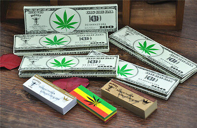 8 X Hornet Organic Set-5 X 110*44MM Rolling Paper+3 X Different Tips Paper