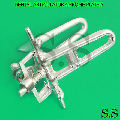 Low Arch Chrome Articulator Dental Lab Pkg. of 5