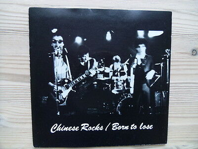"""The Heartbreakers - Chinese Rocks UK Track 1977 7"""" P/S  Mint-/Ex+"""
