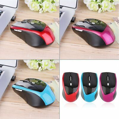 2.4GHz 6 Buttons Wireless Gaming Game Mouse Mice +USB Receiver for PC Laptop I5