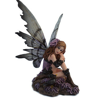 NEW Nemesis Now Fairy 'Heather' Ornament Faerie Gothic Figurine Home Gift Statue