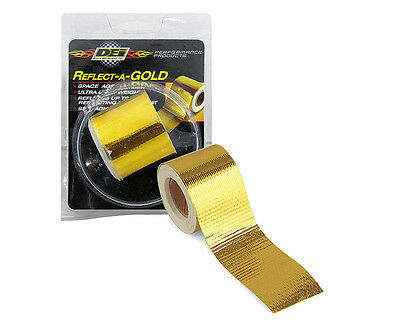 """Authentic DEI Reflect-a-Gold Reflecting Tape 2"""" wide x 30ft long"""